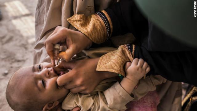 Taliban Bans Polio Vaccinations