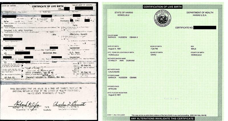 no birth certificate obama. Obama Has No Birth Certificate