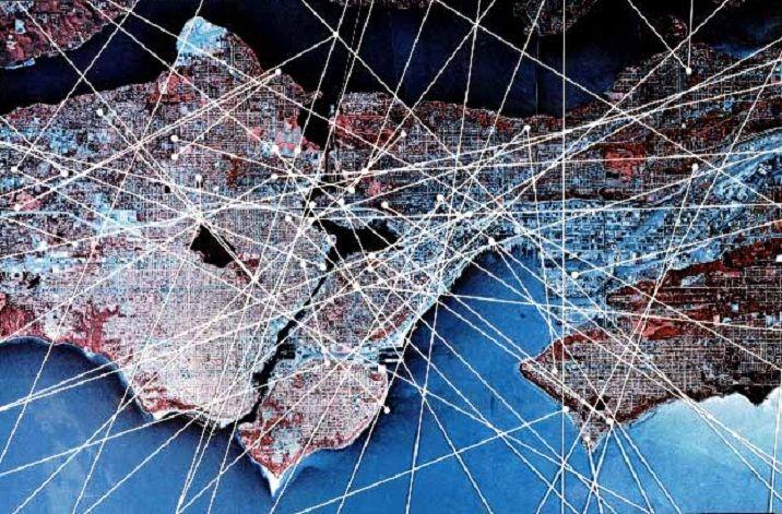 Ley Lines Arizona Map.Ley Lines A Harmonic Grid Of Energy Usahm Conspiracy