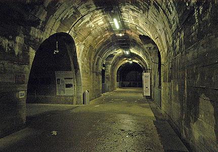 Secret Underground Tunnels