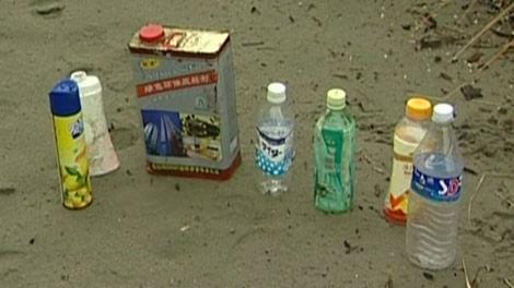 Tsunami Debris Washes Into Tofino: A Year-And-A-Half Early