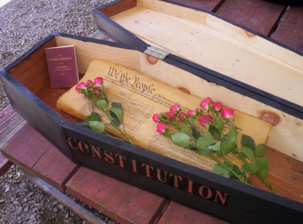 US Constitution dead