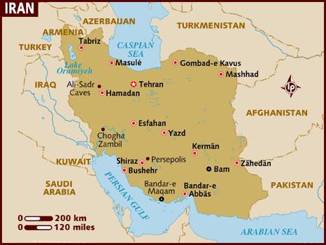 US Missiles 'Hit Iranian Village'