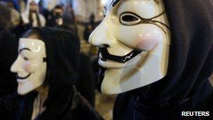 Anonymous 'intercept FBI and Scotland Yard phone call'