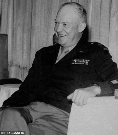 President Eisenhower had three secret meetings with aliens..