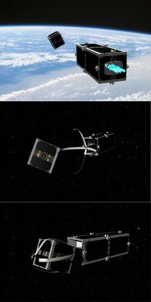 Swiss craft janitor satellites to grab space junk