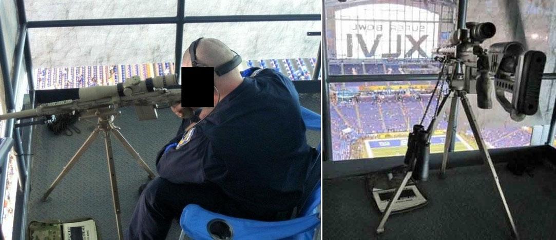 The Sniper's Nest At Super Bowl XLVI
