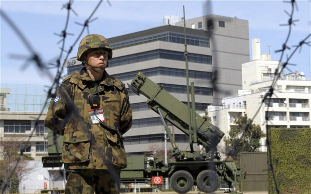 Japan readies missile defense system over North Korea rocket