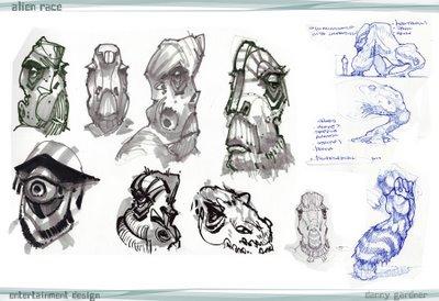 Alien Races And Their Descriptions