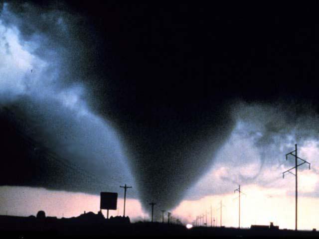 Tornadoes Targeting Metropolitan America 2012