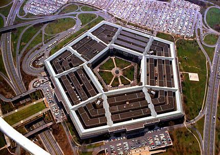Pentagon under 24/7 DARPA surveillance