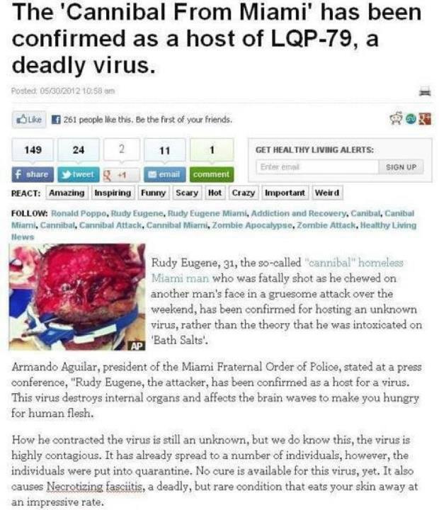 The LQP-79 Zombie Virus?