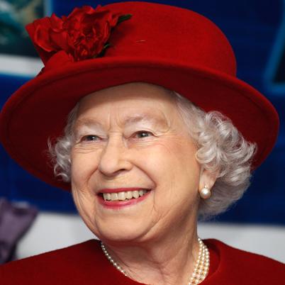 Queen Elizabeth II  - 2018 Grey hair & conservative hair style.