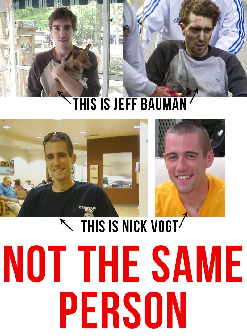 Jeff Bauman IS NOT Nick Vogt