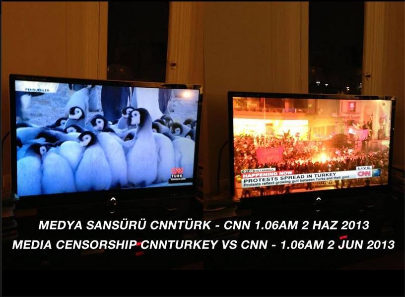 CNN Turkey (left) Vs. CNN International (right)