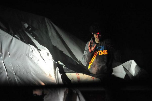 New photos of Boston bomber, Dzhokhar Tsarnaev in the boat he was apprehended in