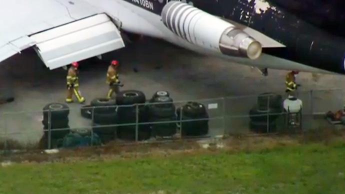 Depleted uranium found in Florida airport, evacuation ordered