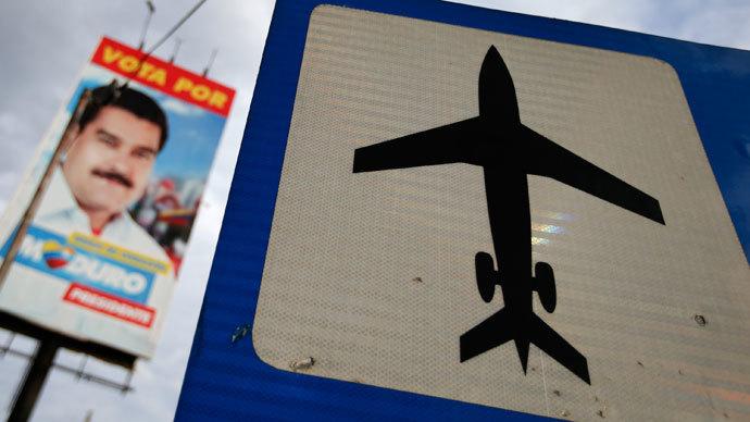 US denied Venezuelan president travel through its airspace