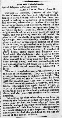 Old Newspaper Dump: Giants Once Roamed The Earth 9294451025_ffbd5dc5b9