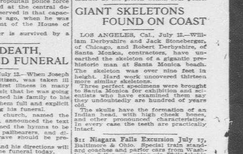 Old Newspaper Dump: Giants Once Roamed The Earth 9294451071_78b1ef9dd8