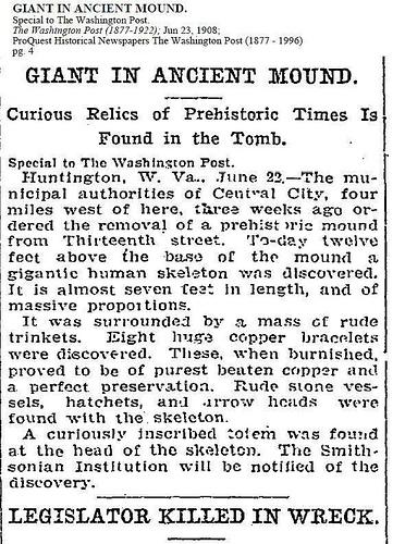 Old Newspaper Dump: Giants Once Roamed The Earth 9294451243_29cd5919c3