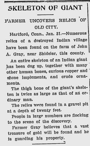 Old Newspaper Dump: Giants Once Roamed The Earth 9294451691_e69b8e7ec9