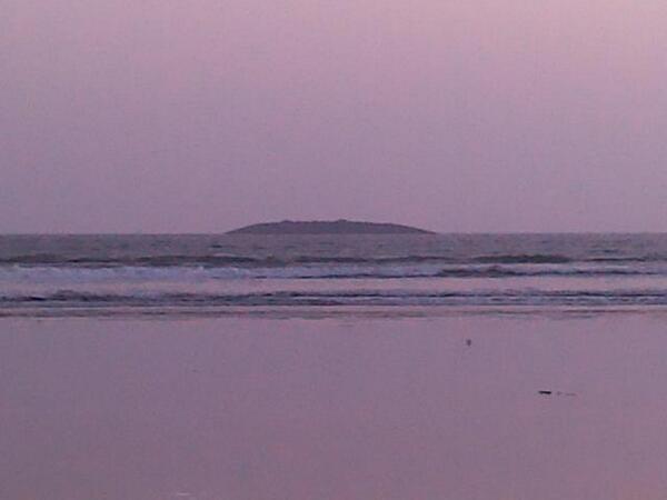 Island emerges off Gwadar coast after powerful earthquake