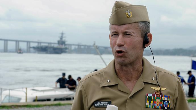 US Navy admirals under investigation in widening bribery scandal