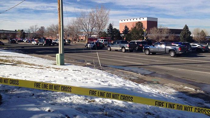 Two students injured in Colorado school shooting, gunman dead