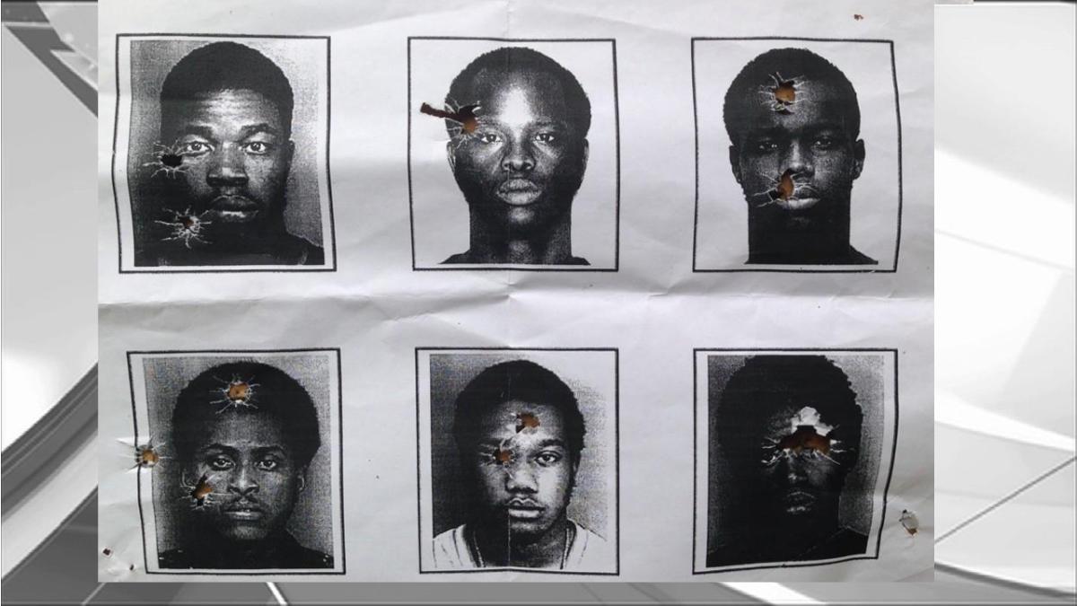 North Miami Beach Police Use Mug Shots as Shooting Targets
