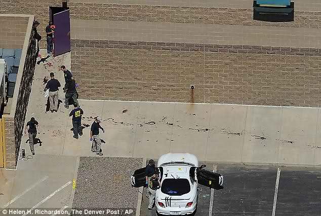 Witness: Someone let gunman inside Colorado movie theater