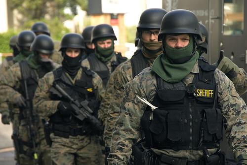 Swat team shoots ex-marine 71 Times in Marijuana raid – No Marijuana found