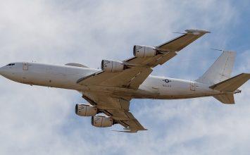 Nuclear war contingency plane damaged in hangar mishap
