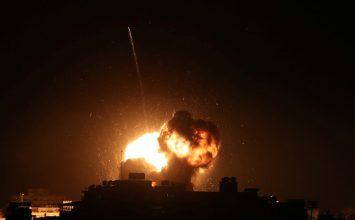 Israel starts striking Hamas targets throughout Gaza in response to rocket attack