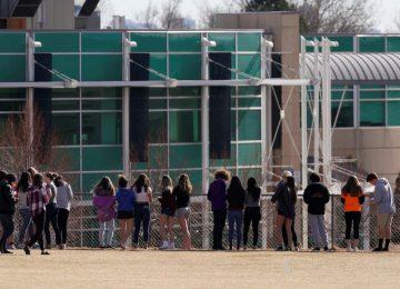 20 schools on lockdown as FBI hunt for 'Columbine-infatuated' teen