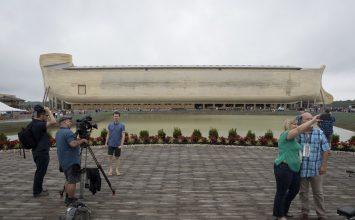 Owners of Noah's Ark replica 'museum' sue insurers… for rain damage