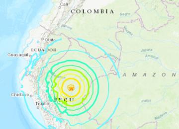 1 dead, 11 injured as 8.0-magnitude earthquake strikes northern Peru