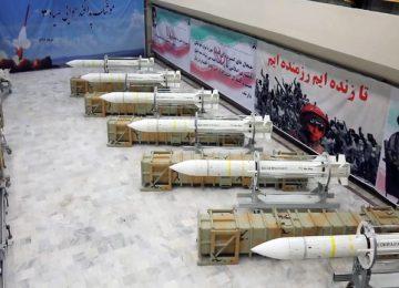 Iran unveils homebuilt air defense missile system to destroy 'stealth targets'