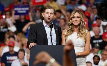 Alleged spitting on Eric Trump sparks debate