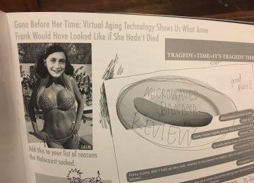 Harvard magazine slammed for FAKE IMAGE of Anne Frank in bikini