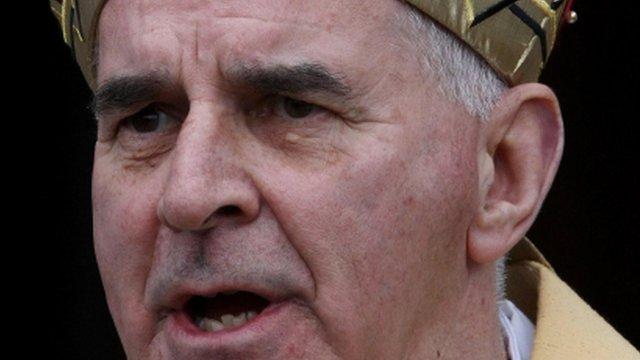 Cardinal Keith O'Brien resigns as Archbishop