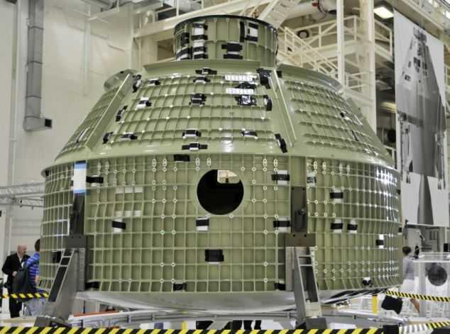 NASA unveils Orion capsule bound to take astronauts to Mars