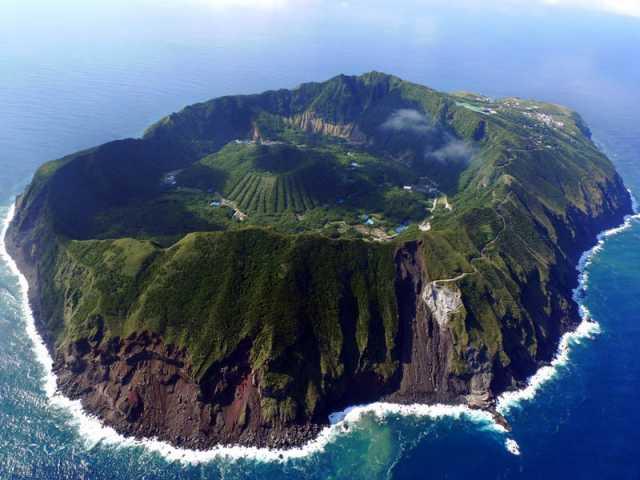 "Living ""inside"" a Volcano: Aogashima Island"