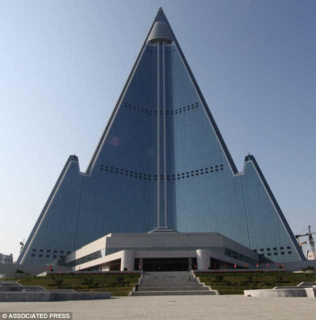 Welcome to the Hotel of Doom: 3,000 room monstrosity in Pyongyang