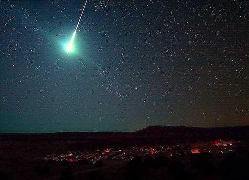 Huge 'Meteors' sighted in skies across UK