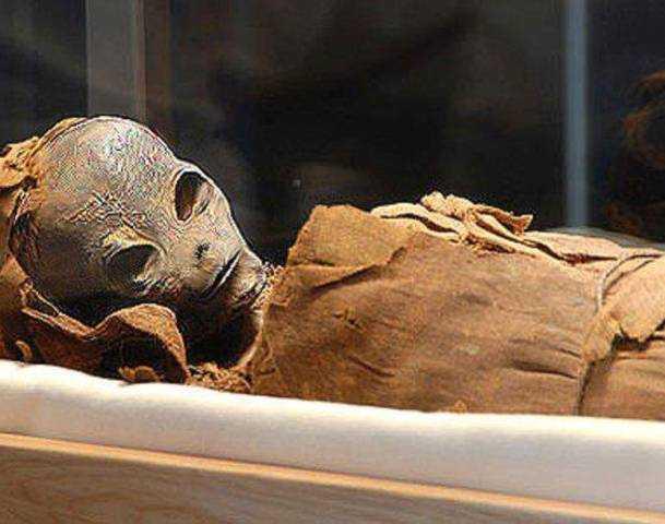 Extraterrestrial Mummy Found In Egypt?