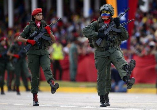 Venezuela plans a 'guerrilla army' against US invasion