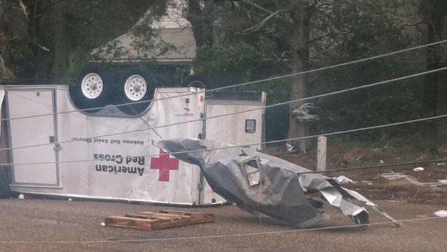 Tornado Hits Mobile, Ala.; 'Severe Damage' Confirmed