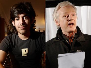 WikiLeaks reveals association with Aaron Swartz
