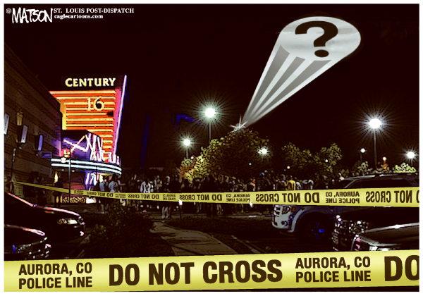 """Aurora Eyewitness: Alarm Announced """"Murder in the Theater"""""""